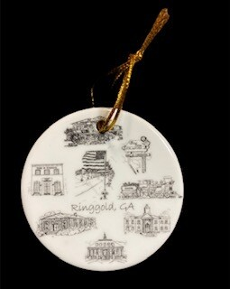 Ringgold Christmas ornament