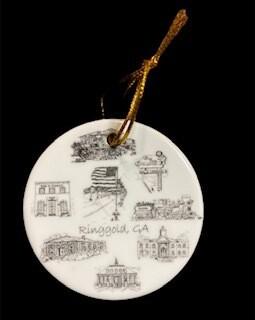 Ringgold Christmas ornament