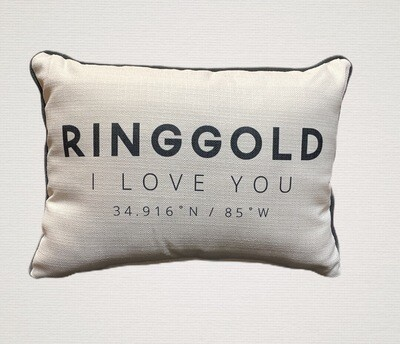 Ringgold I LOVE YOU PILLOW