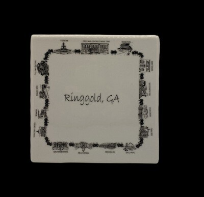Small Ringgold plate