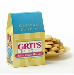 Cheddar Grits Bits Box