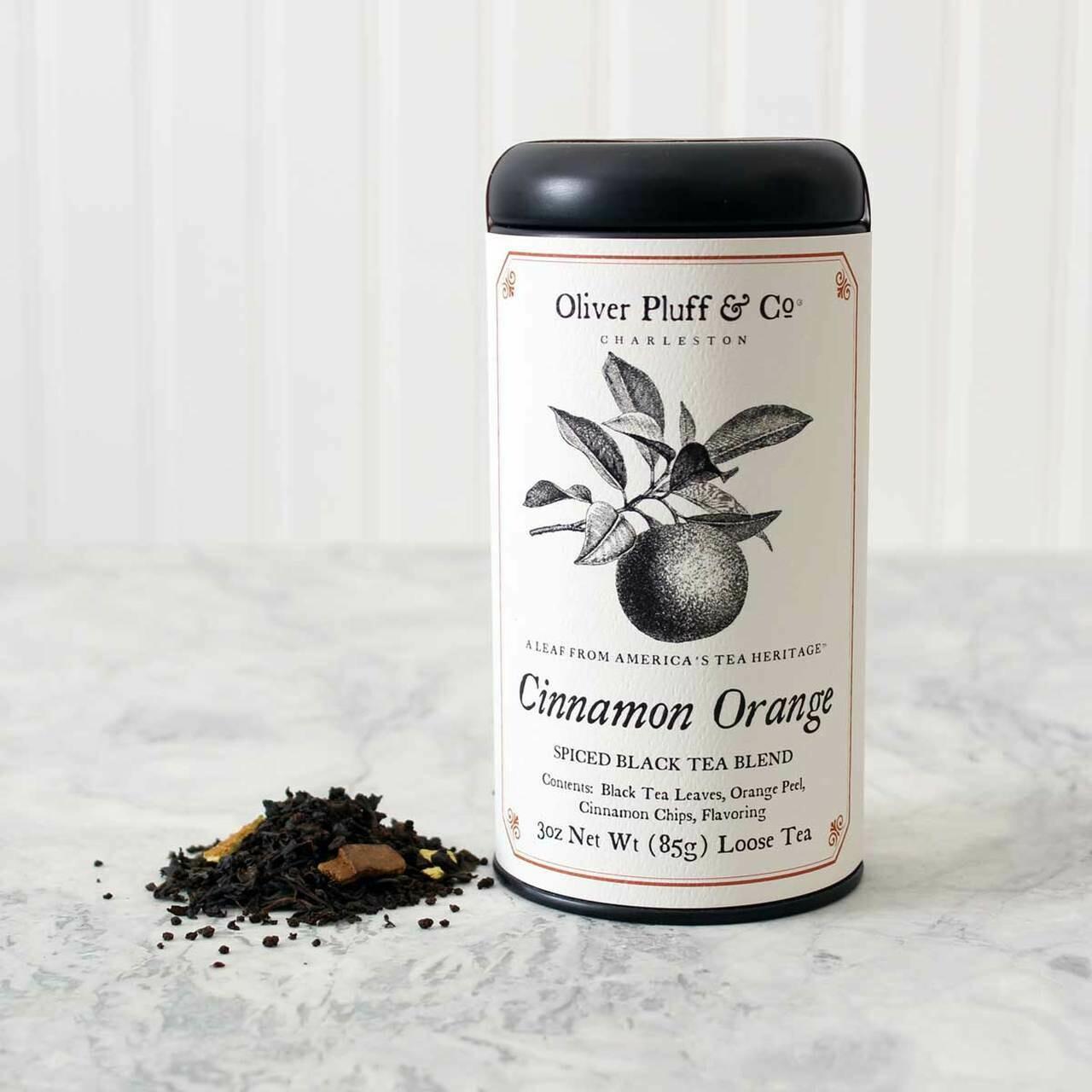 Cinnamon Orange Spice Loose Tea in Signature Tin
