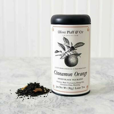 Cinnamon Orange Spice Loose Tea in Signature Tin