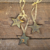 Star Antique Pattern Ornaments