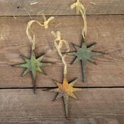 North Star Antique Pattern Ornaments