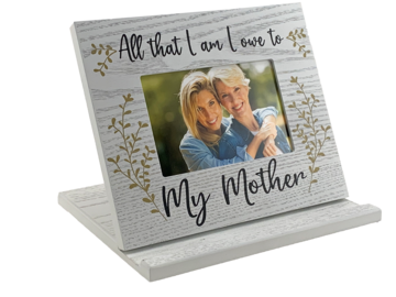 All that I am I owe to my Mother