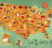WEIRD AND WACKY USA