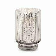 Tall Silver Mercury Glass