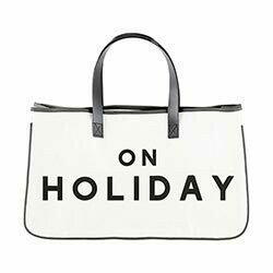 Face to Face Canvas Tote - On Holiday