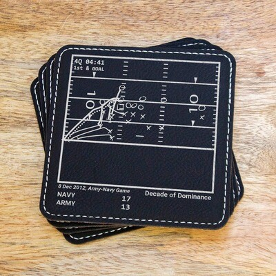 Greatest Navy Plays - Set of 4