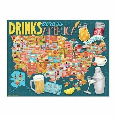 Drinks across America puzzle