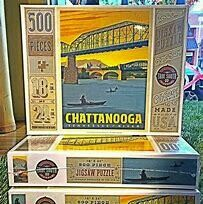 Chattanooga Tennessee puzzle