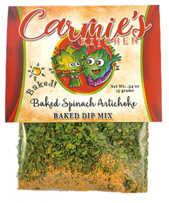 Baked Spinach Artichoke Dip Mix