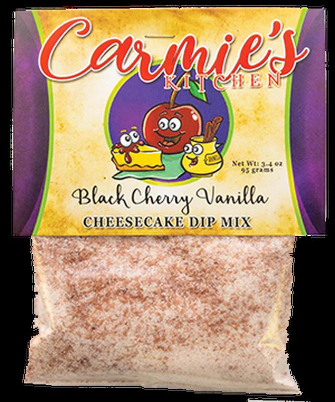 Black Cherry Vanilla Cheesecake Dip