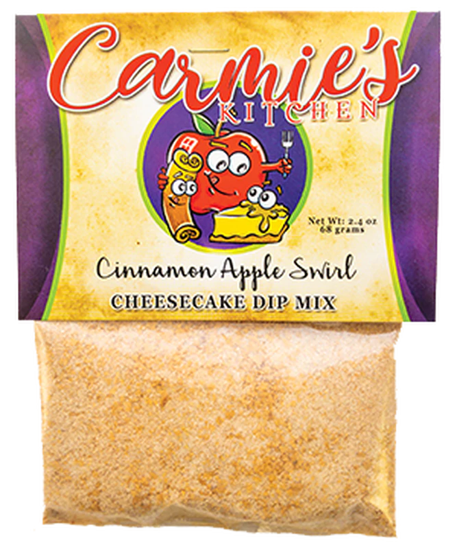 Apple Cinnamon Swirl Cheesecake Dip