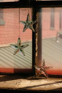 Hanging Glass Starfish