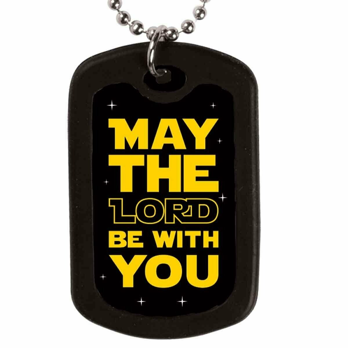 May The Lord Dogtag Necklace