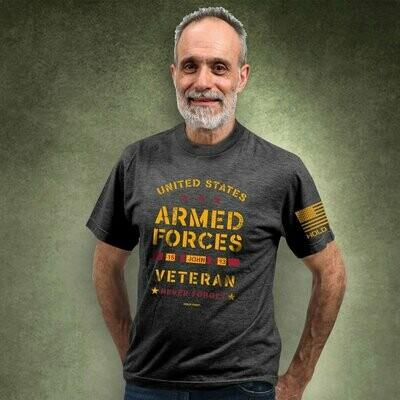Mens T-Shirt Veteran