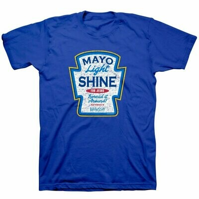 Christian T-Shirt Mayo Light Shine