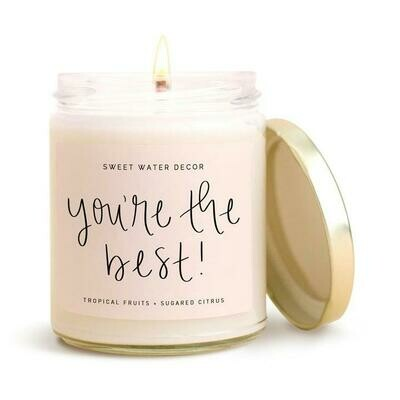 You're the best soy candle