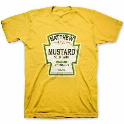 Christian T-Shirt Mustard