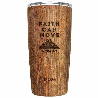 Faith Can Move 20 oz Stainless Steel Tumbler