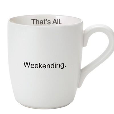Weekending mug