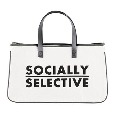 Socially selective bag