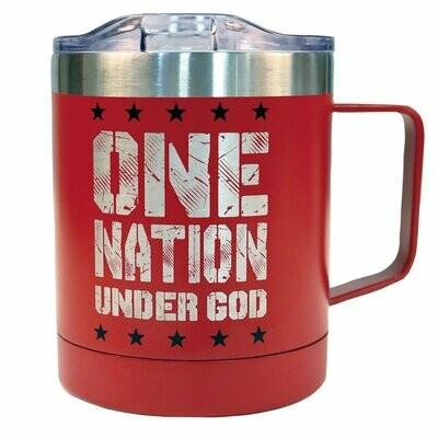 Eisenhower Stainless Steel Mug With Handle