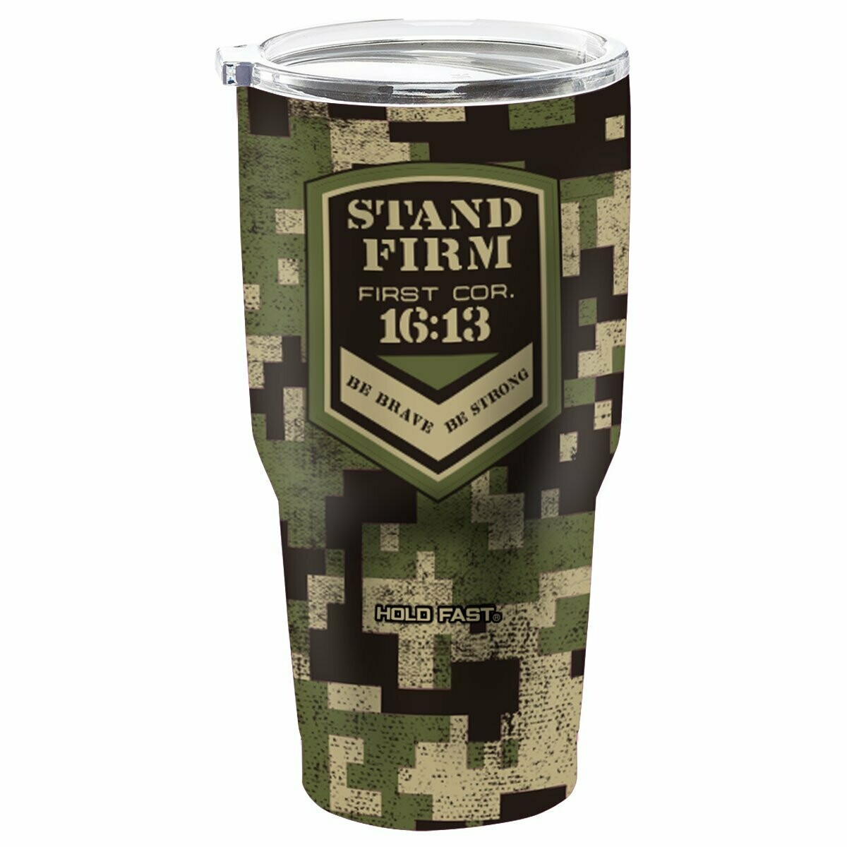 Stand Firm 30 oz Stainless Steel Tumbler
