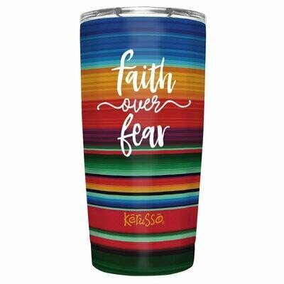 Faith Over Fear 20 oz Stainless Steel Tumbler