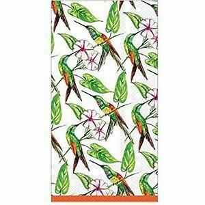 Paper Napkins Dinner/guest towels Hummingbird