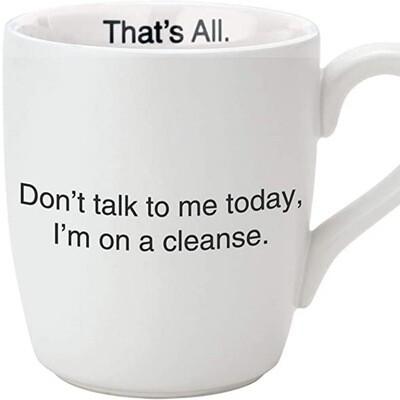 Cleanse mug