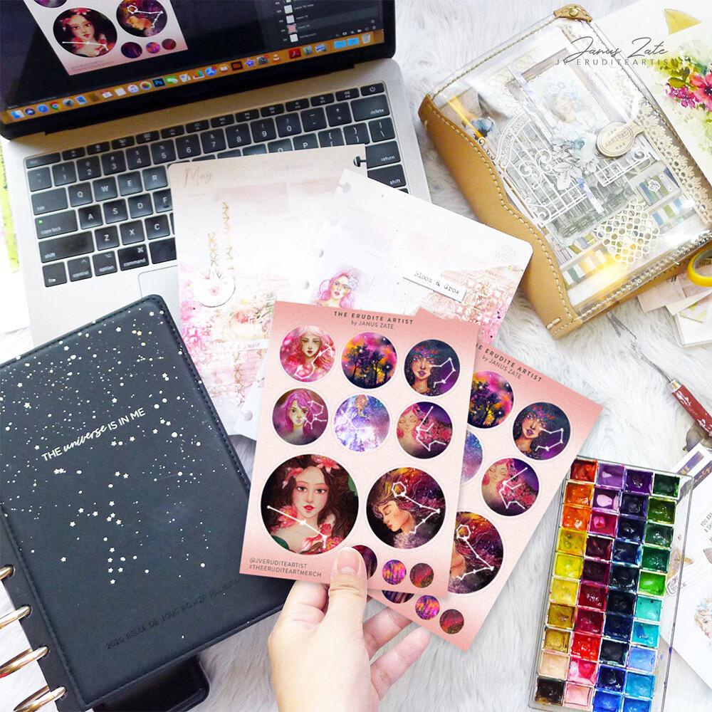 Galactic Girls [Digital Sticker] FREEBIE