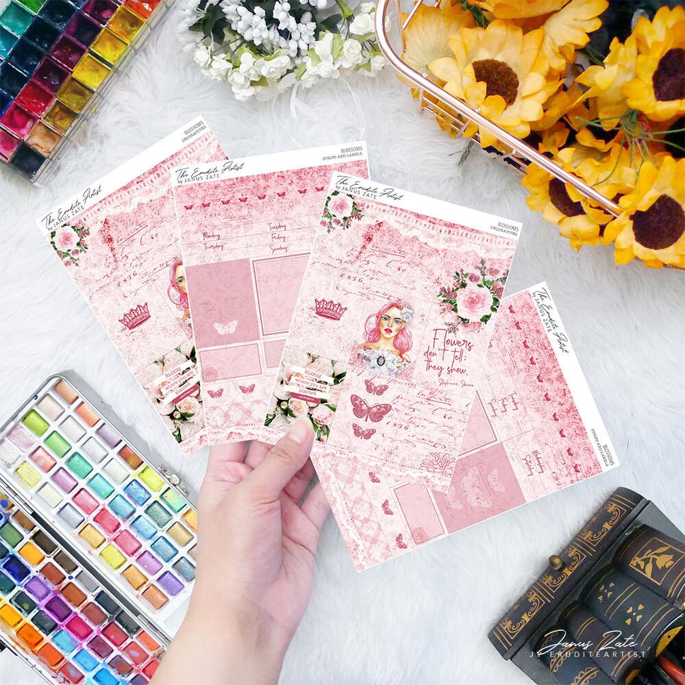 Blossoms DUO Sticker Set [PRINTS]