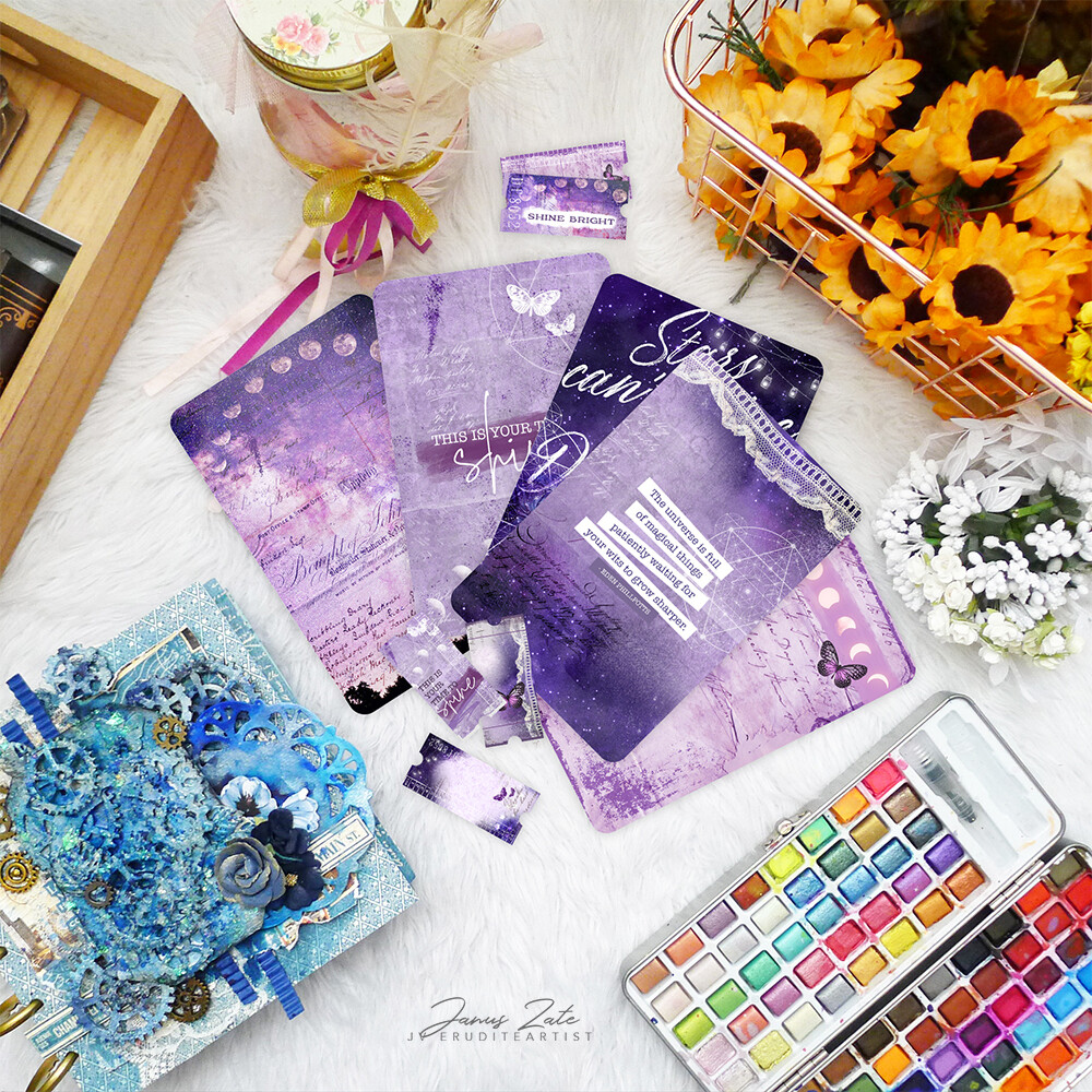 Shine Bright Journal Cards Set [PRINTS]