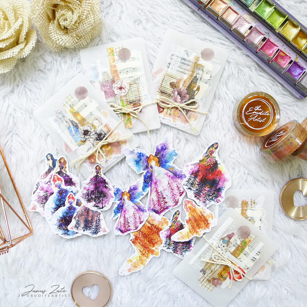 Cosmic Fashion Sticker Pack [INVENTORY SALE]