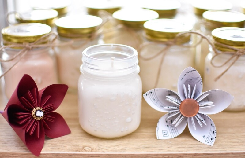 Soy & Coconut Wax Candles - Medium Jar