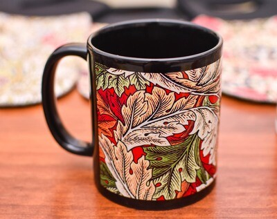 Coffee Mug - William Morris - Leaf Pattern