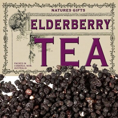 ELDERBERRY - ORGANIC HERBAL TEA - 100g