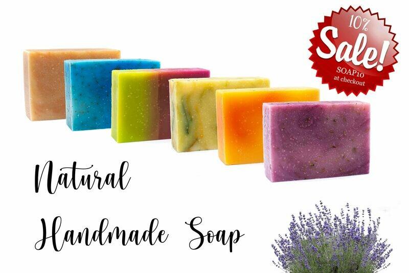 6 Handmade Soap Pack