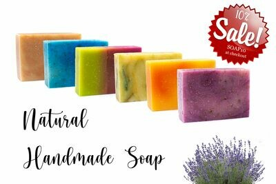 6 Handmade Soap Pack