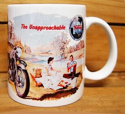 300ml COFFEE MUG, NORTON MOTORCYCLES