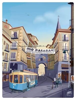 NO PASARÁN - MADRID, 1937