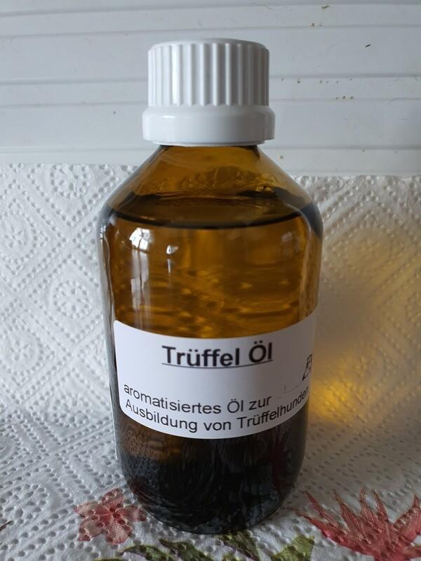Trüffel Öl für Ausbildung