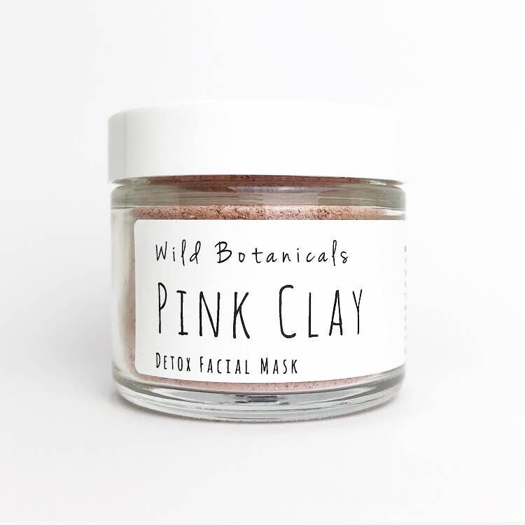 Face Mask - Lg. Pink Clay
