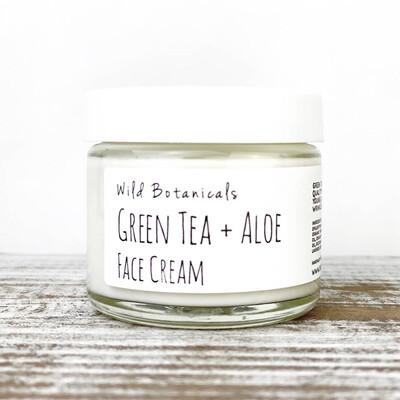Face Cream - Green Tea & Aloe