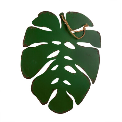 Monstera Leaf - Metal