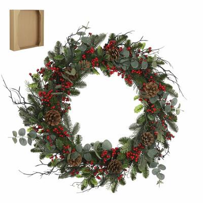 Addy Wreath - Green