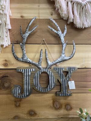 Antler Joy Ornament